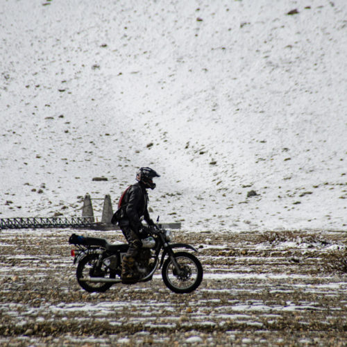 Motorcycle ride to Ladakh, India